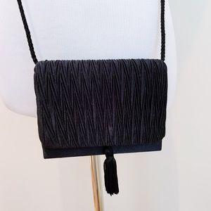 Mini Vintage Box Purse With Tassel